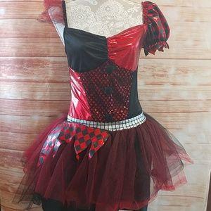 Harley Quinn Halloween costume. Size adult M